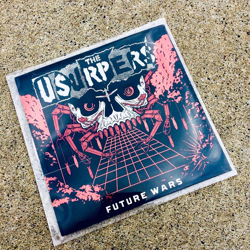 Usurpers 'Future Wars' album on CD
