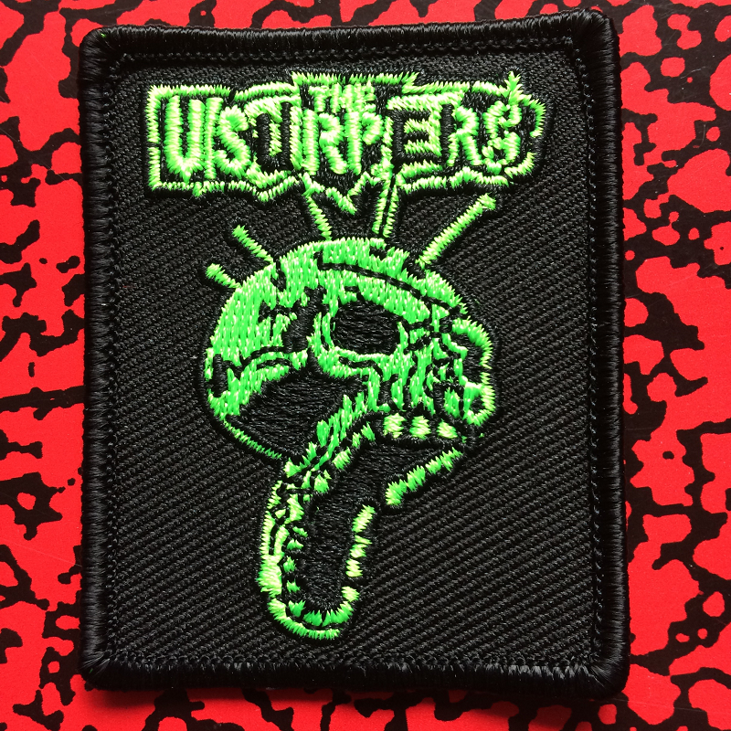 Usurpers Skull embroidered patch